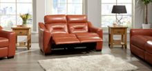 La-Z-Boy Tara Leather 2 Seater Power Sofa