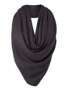 Armani Jeans Tone on tone square scarf