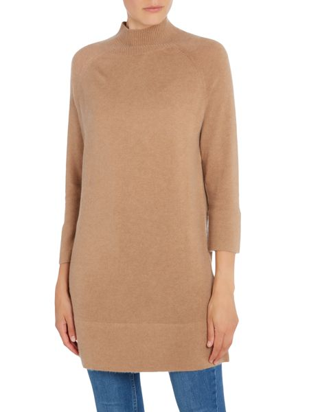 Repeat Cashmere Roll neck jumper dress