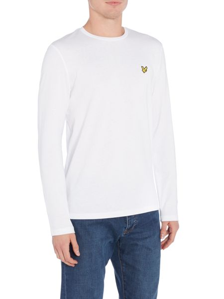 Lyle and Scott Long Sleeve Classic Crew Neck T-Shirt