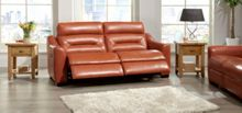 La-Z-Boy Tara Leather 3 Seater Manual Sofa