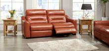 La-Z-Boy Tara Leather 3 Seater Power Sofa