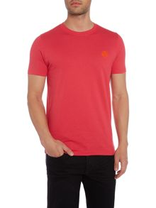PS By Paul Smith Slim fit small flock logo crew neck t shirt