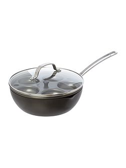 Chefs Pan with Egg Poacher