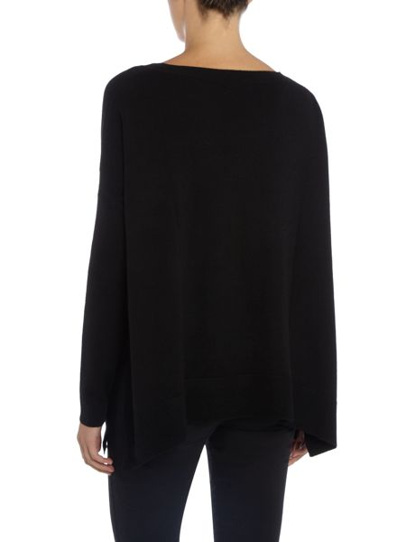 Repeat Cashmere Round neck swing jumper