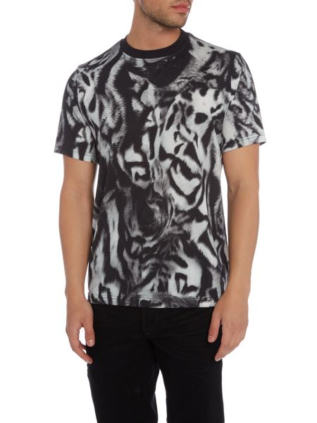 PS By Paul Smith Regular fit tiger printed t-shirt
