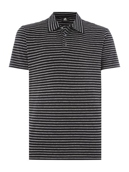 PS By Paul Smith Slim fit striped polo shirt