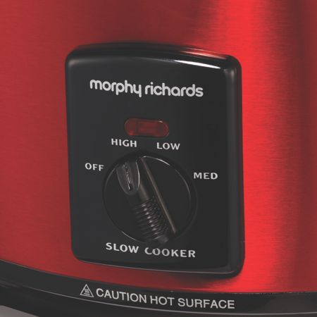 Morphy Richards Red Sear and Stew 3.5L Slow Cooker