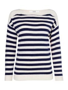 Dickins & Jones Cassie Stripe Knit Jumper