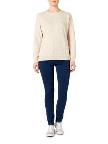 Dickins & Jones Poppy polka dot jumper