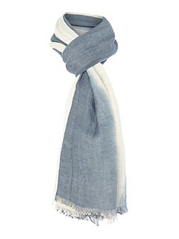 Golia Ombre cotton mix scarf