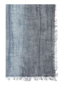 Max Mara Golia Ombre cotton mix scarf