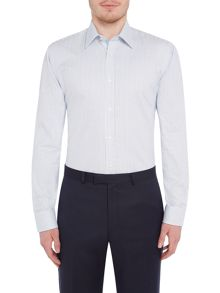 Ted Baker Ted Baker Slim Fit Micro Check Shirt