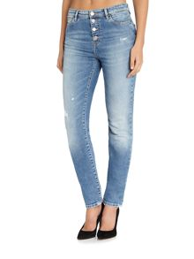 Guess Butt Fly high rise skinny jean