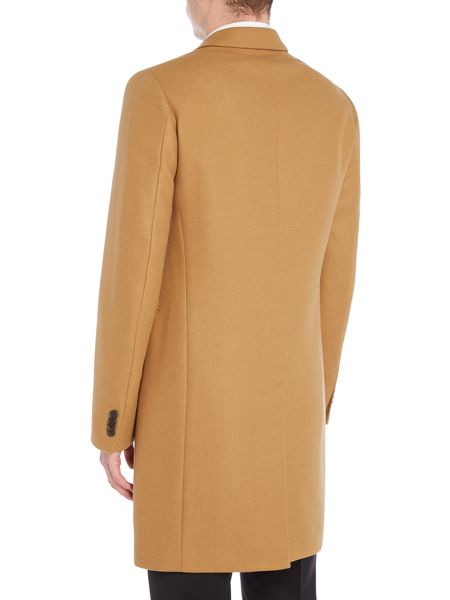 PS By Paul Smith Long-line wool cashmere mix coat