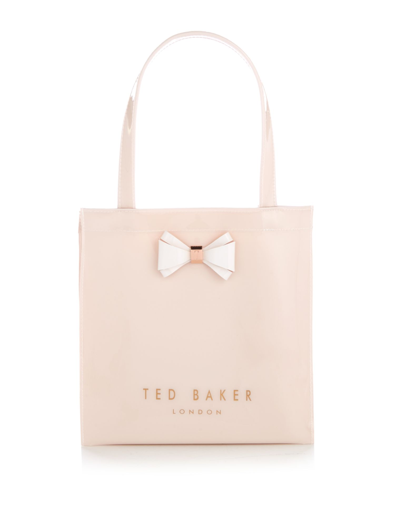 Ted Baker Aracon small bow tote bag Pink