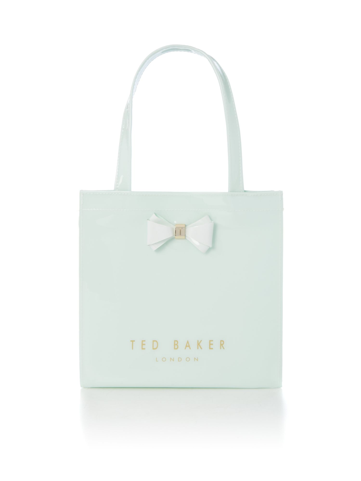 Ted Baker Aracon small bow tote bag Green