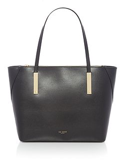 Poppey mini grain large tote bag