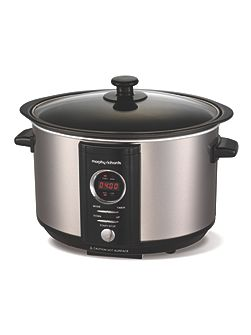 Accents Digital 3.5l slow cooker brushed
