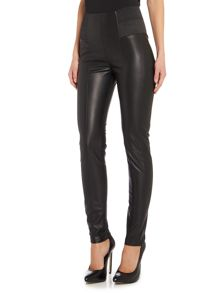 Guess Suzanne leather look leggings