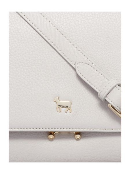 Lamb 1887 Pacific lock crossbody bag