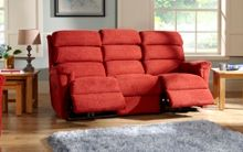 La-Z-Boy Avenger Fabric 3 Seater Manual Sofa