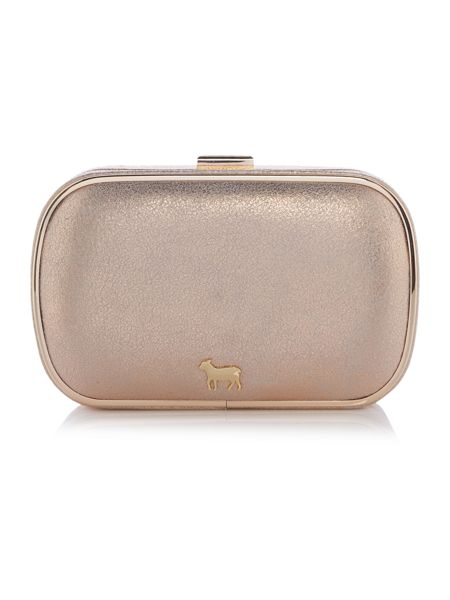 Lamb 1887 Oyster metallic clutch