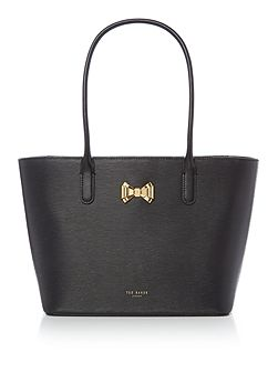 Taleen small bow tote bag
