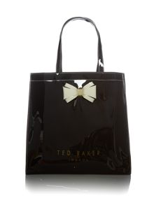 Ted Baker Alacon large bow tote bag