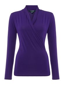 Lauren Ralph Lauren Shoushan wrap top