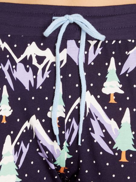 Chelsea Peers Snowy mountain long sleeve pyjama boxed set