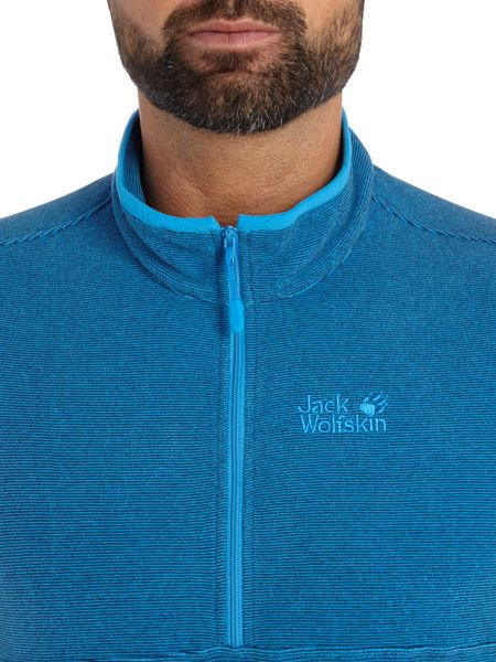Jack Wolfskin Arco Funnel Neck 1/2 Zip Up Fleece