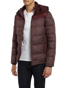 Calvin Klein Ogent hd padded mixed media jacket
