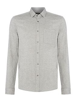 Galen-pk01 heather oxford sweatshirt