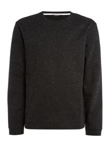 Calvin Klein Kanep coloured bonded neps sweatshirt