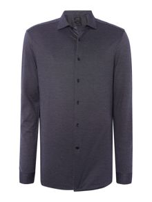Calvin Klein Whister micro jacquard optical shirt