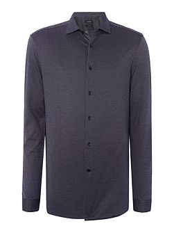 Whister micro jacquard optical shirt