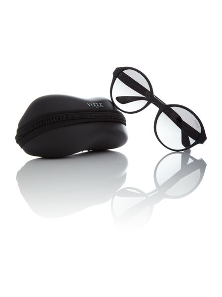 Vogue Black round VO5106S sunglasses