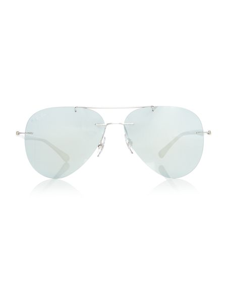 Ray-Ban Silver pilot RB8058 sunglasses
