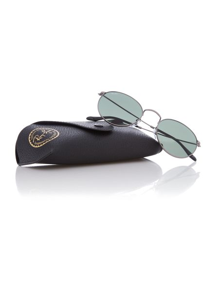 Ray-Ban Gunmetal phantos RB3447 sunglasses