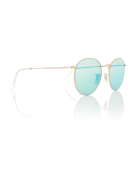 Ray-Ban Gold phantos RB3447 sunglasses