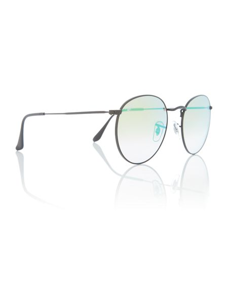 Ray-Ban Shiny phantos RB3447 round sunglasses