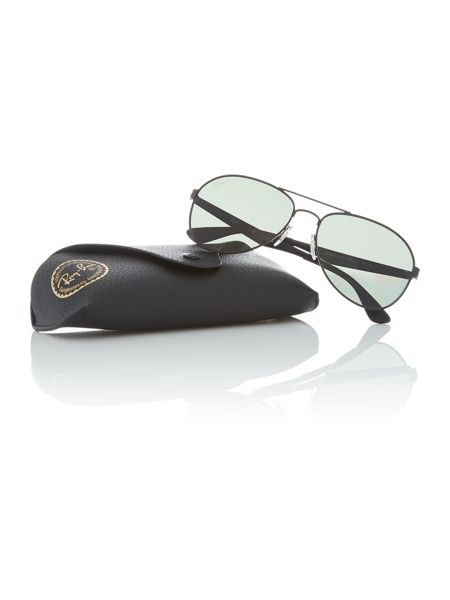 Ray-Ban Matte black pilot RB3549 sunglasses