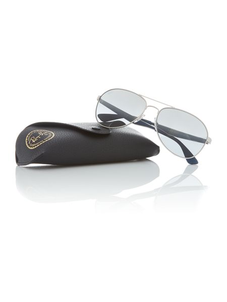 Ray-Ban Matte gunmetal pilot RB3549 sunglasses