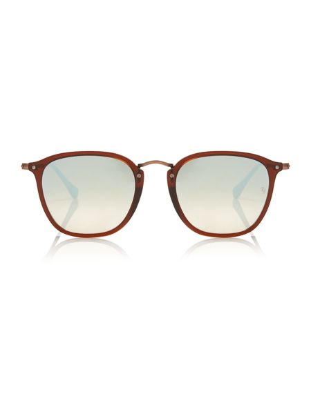 Ray-Ban Brown square RB2448N sunglasses