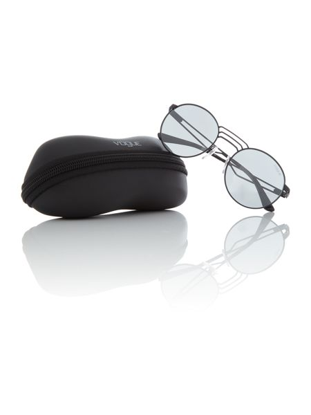 Vogue Black round VO4044S sunglasses