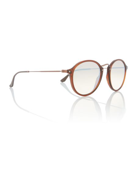 Ray-Ban Shiny brown phantos RB2447N sunglasses