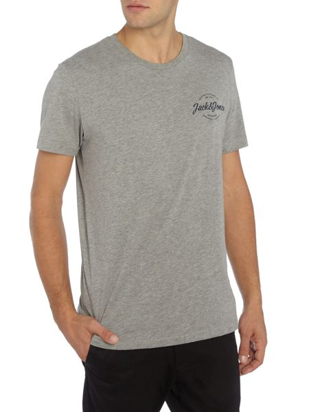 Jack & Jones Cotton Logo Crew Neck T-shirt