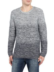 Jack & Jones Cotton Dip-Dye Jumper