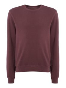 Label Lab Joe Garment Dyed Crew Neck Sweat